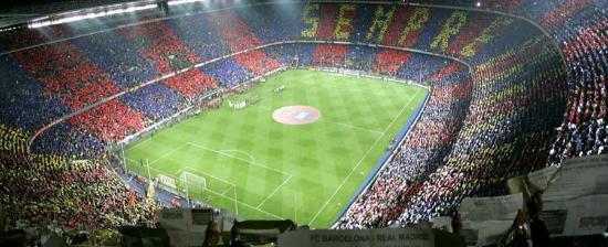 Barcelona Camp Nou Estadios de fútbol en España estadio más grande de europa