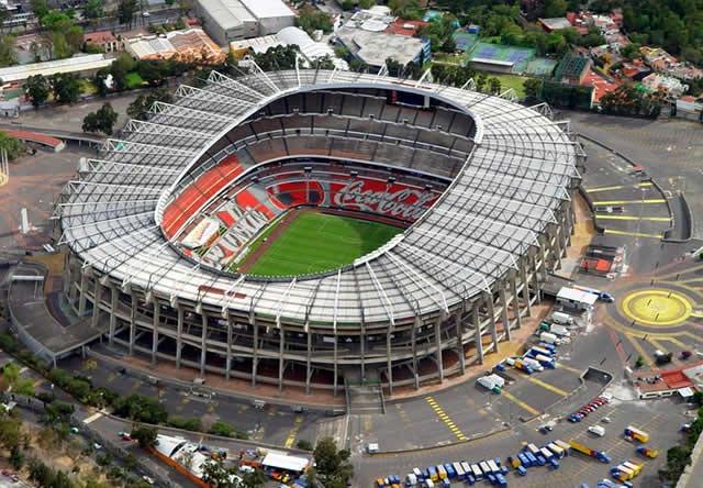 Estadio Azteca Ciudad de México es el estadio más grande de américa
