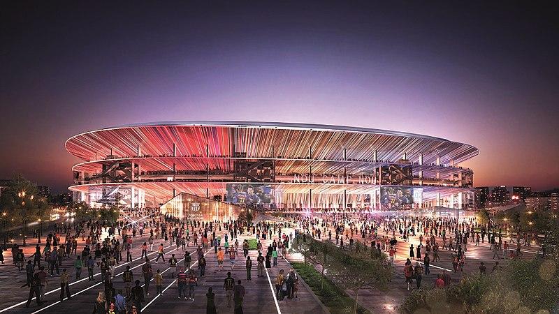 el nuevo estadio del barcelona el nou camp nou