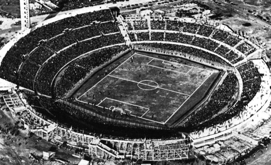 Estadio centenario 1930 mundial uruguay futbol retro historia gloriosa