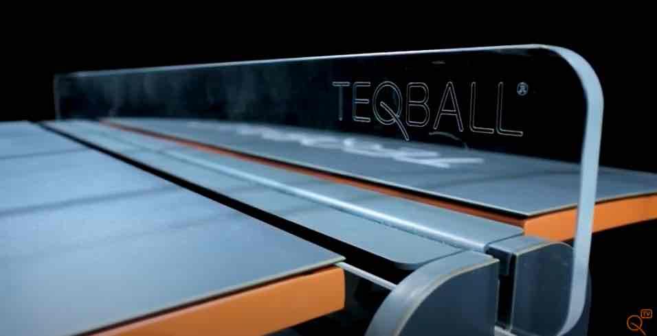 fotos de mesa de teqball y el costo de construirla